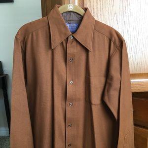 Men's Pendleton Rust Brown  SZ M